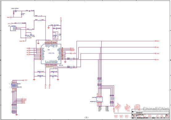 图6.评估板akd4432-sa电路图(3)