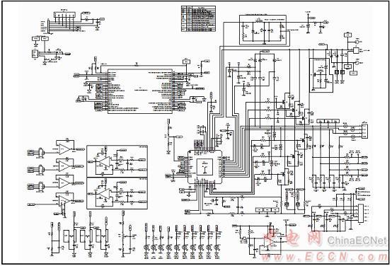 bldc马达驱动评估板电路图