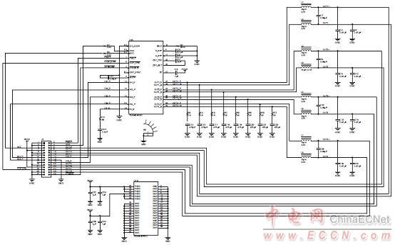 vm放大器pcb电路图