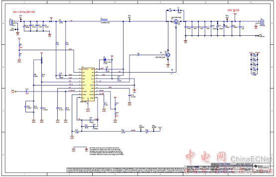 图9.100w汽车放大器参考设计pmp9484电路图(1)