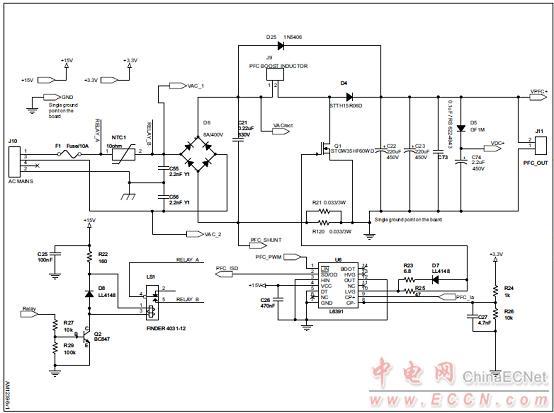 图9. steval-ihm034v2马达控制板电路图(5)