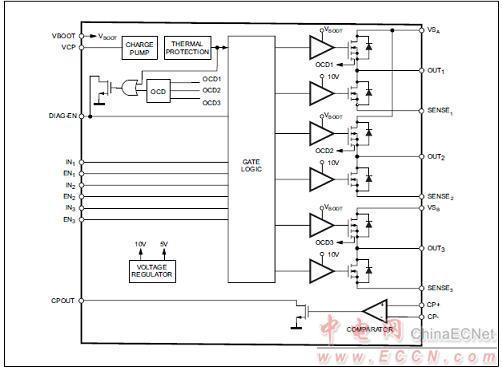 l6230六步零交叉检测应用电路