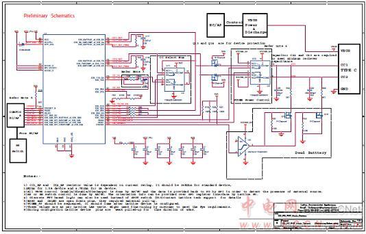 usb cd/pd phy主/从电路材料清单