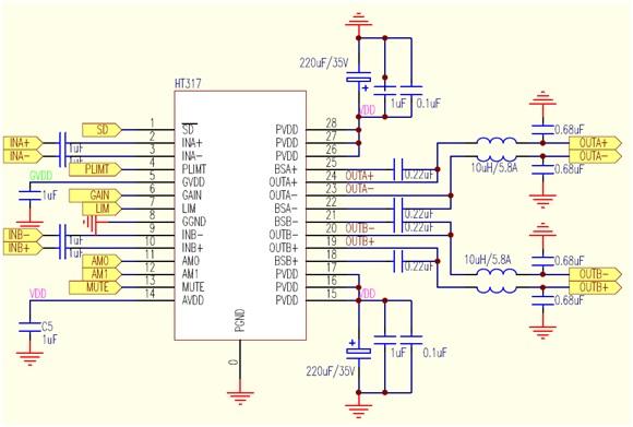 bsc68z彩行btl电路图