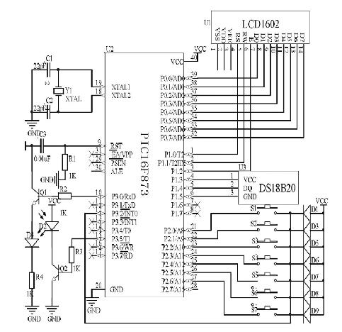 遥控器发射电路设计原理图