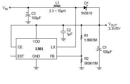 典型应用电路原理图