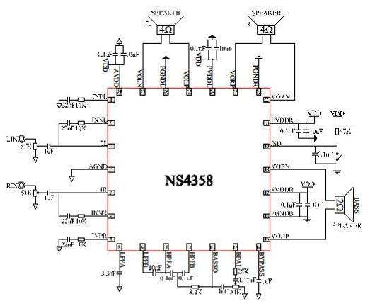 凌志gs200音响功放接线图