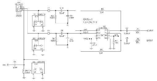 用于fm接收的耳机天线原理图及pcb