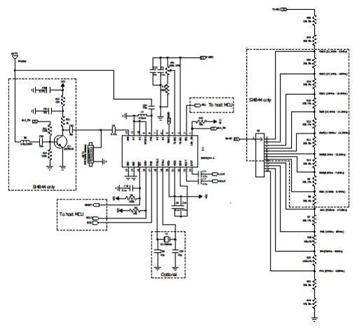 高低音调节ic电路
