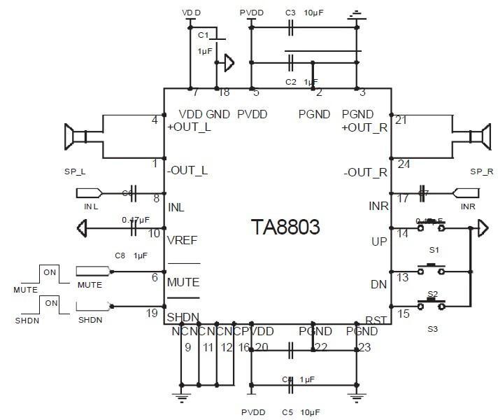 ta8251集成块电路图